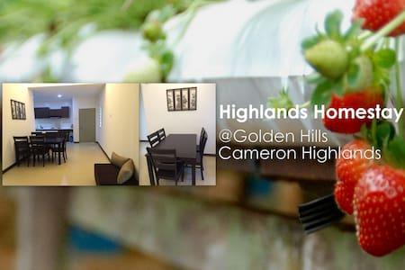 Highlands Homestay @Golden Hills Cameron Highlands - Daire