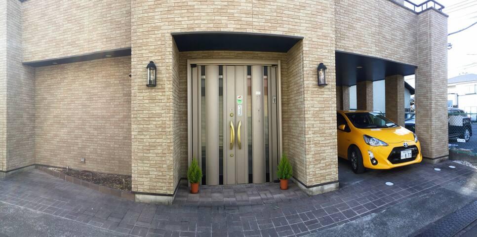 希臘風情的客房、適合全家人的空間、不被打擾、有設備齊全的廚房。 - Chichibu-shi - House