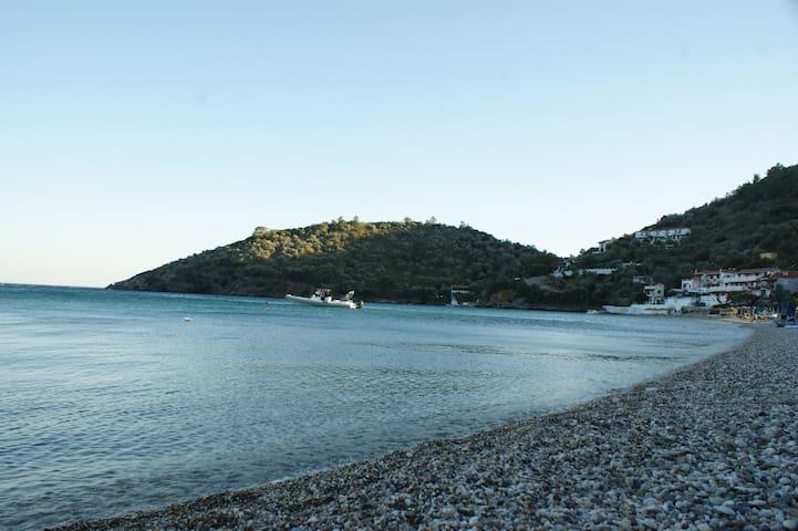 Samos,Limnionas..Unique Stone house on the sea
