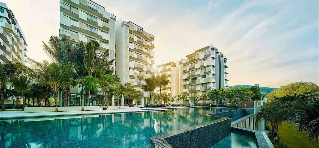 Ferringhi Beachfront Suite @ By The Sea Penang