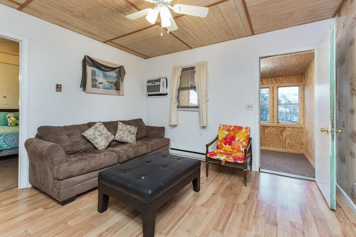 Sand Dollar Cottage West 1 is a pet friendly cottage in the heart of Chincoteague Island..