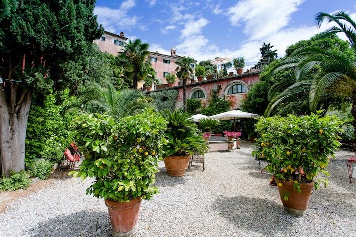 Limonaia in a 16th century villa