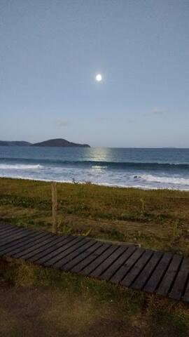 Lua cheia praia de Massaguaçu