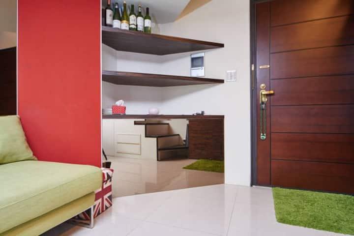 Daan Loft 3 @ Daan MRT 3 Mins Luxury&Home