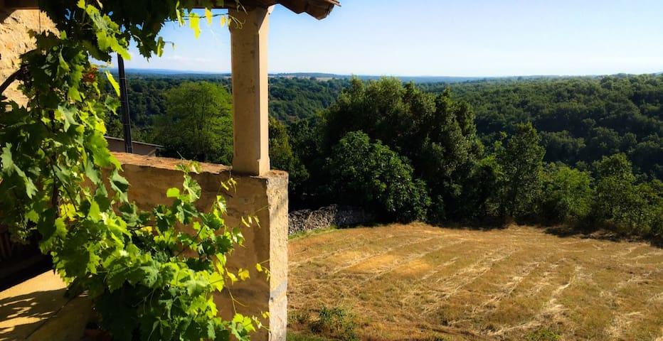 Propriété de charme en Quercy - Lot - Aveyron - Salvagnac-Cajarc - House