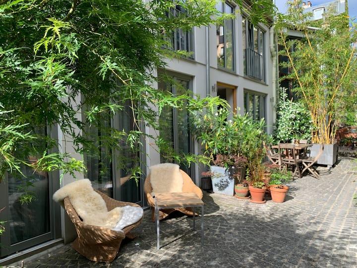 Atelier Loft Paris Mouzaïa Buttes Chaumont