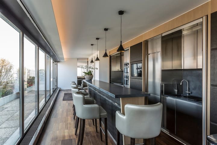 Brand New 4 Bedroom Luxurious Penthouse - Thônex
