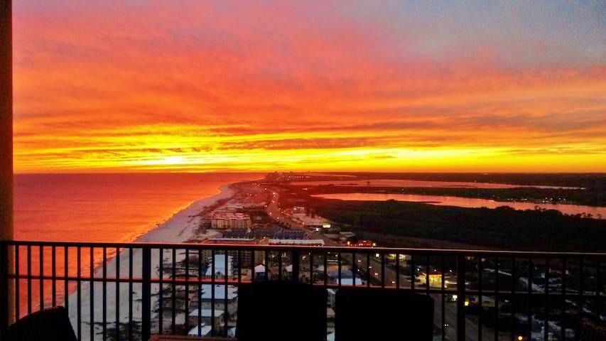 Million $ Views! Platinum~Penthouse - Orange Beach - Flat