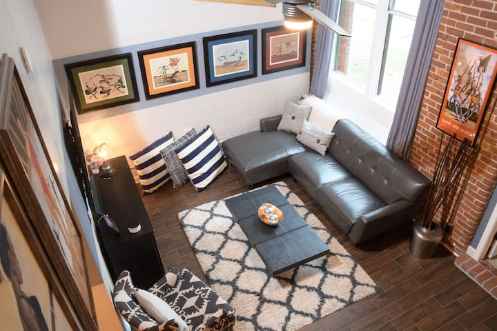Home away from home: Westside Industrial loft