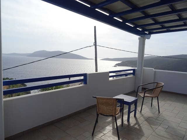 New apartment with majestic view of the Aegean! - Evia - Rumah percutian