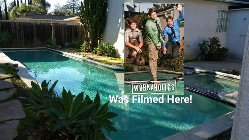 Famous TV House! 40' Pool and Yard  ALL YOURS!!! - Los Angeles - Appartement