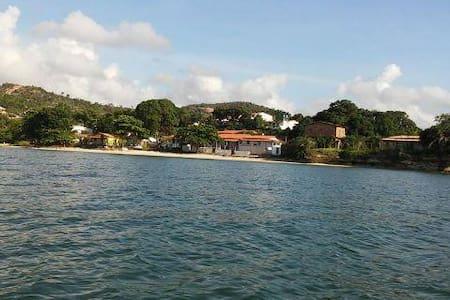 Casa Avarandada em Frente ao Mar na Bahia - Saubara - Dům
