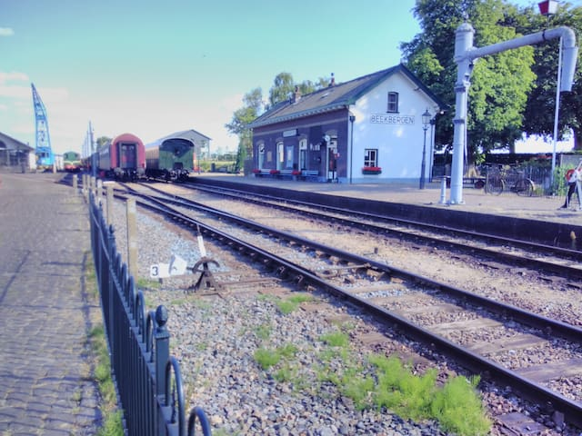 Station Beekbergen-Lieren, Veluwsche Stoomtrein