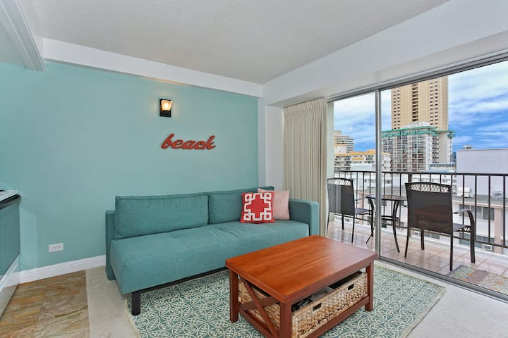Professionally Sanitized*Ocean+City View From This Waikiki Condo+Free Parking - Waikiki Park Heights Ocean 1 BDR on the 12th Floor