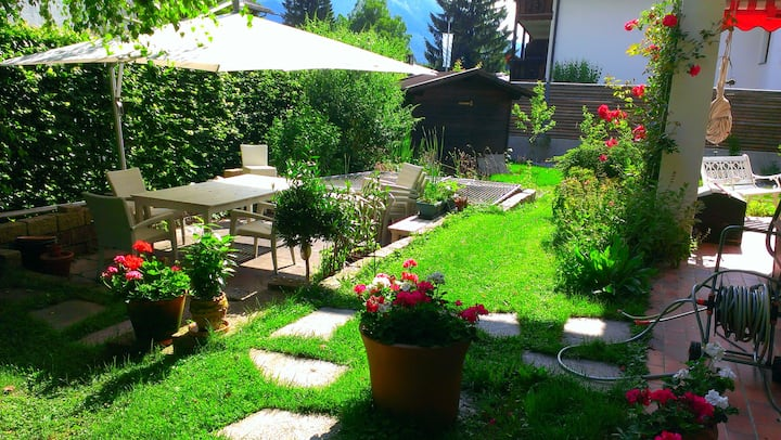 Shared house at Garmisch city center 5* Premium
