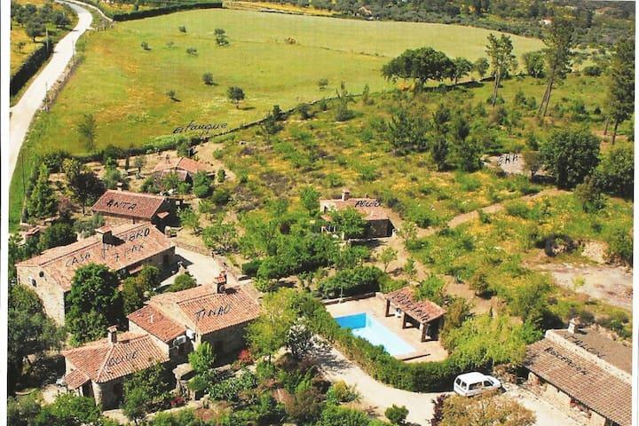 Moderner Bauernhof in La Aceña de la Borrega mit Pool