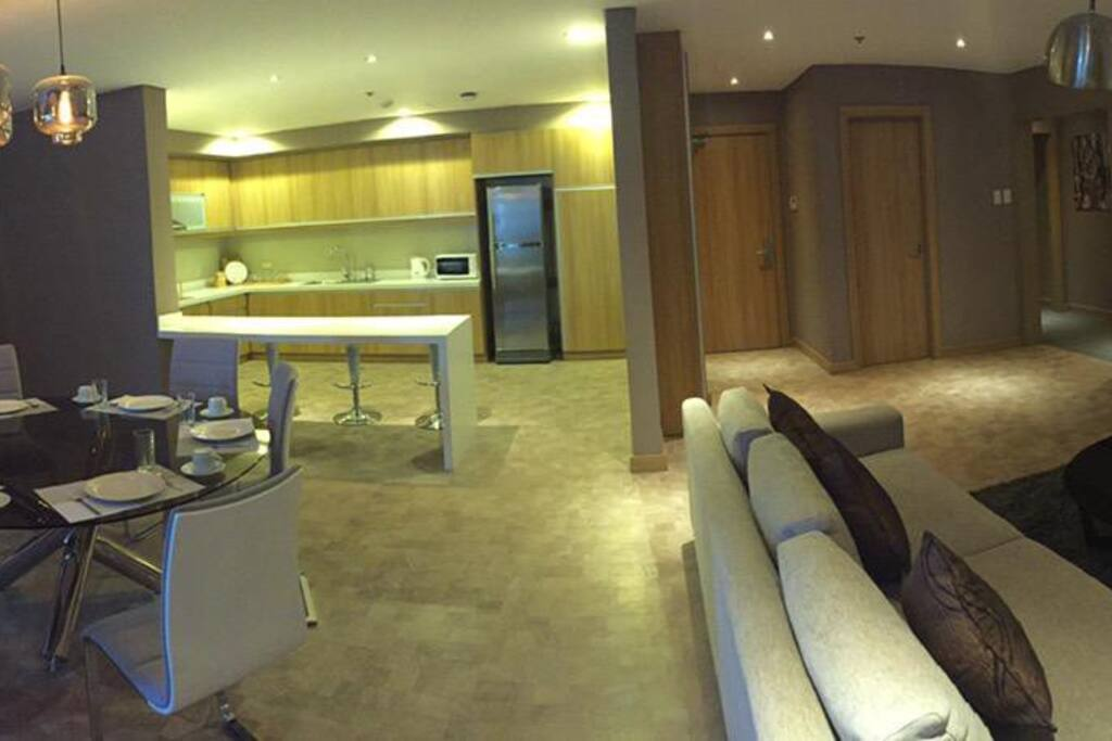 Panorama view of our Presidential Suite