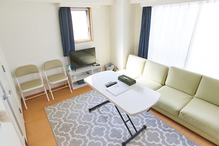Max6ppl30m²/Akihabara&Asakusa 2min/WiFi
