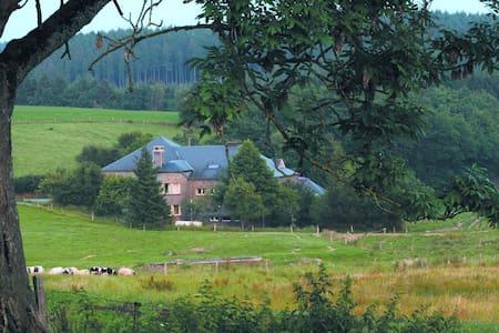 Auberge in oude melkfabriek, midden in de natuur. - La Roche-en-Ardenne - Schlafsaal