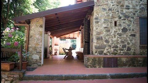 Cottage Toscano Il Magno con piscina