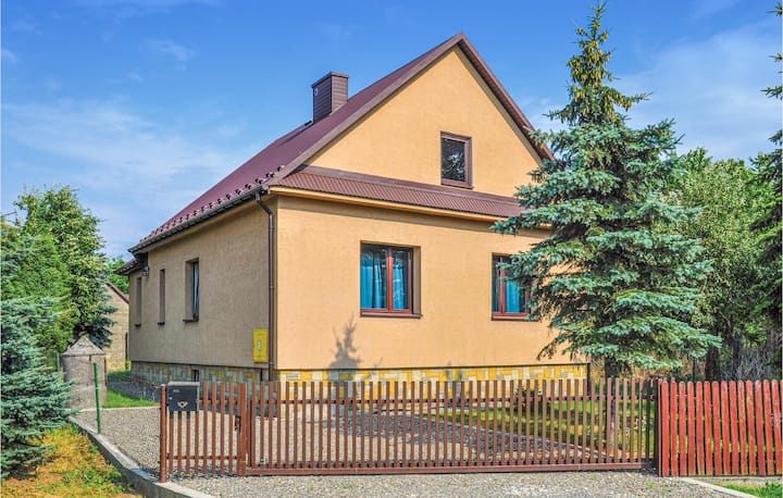 Amazing home in Biadoliny Szlachecki with 1 Bedrooms