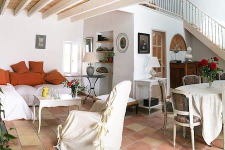 Mas provençal en campagne à 6 km d Avignon. - Rognonas - House