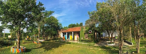 Stay with host in Lotus Edu Farm Hue