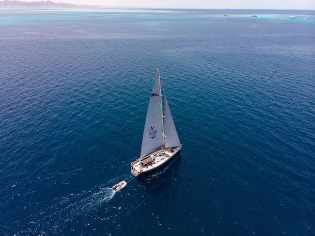 Sailing Yacht in El Gouna, Red Sea