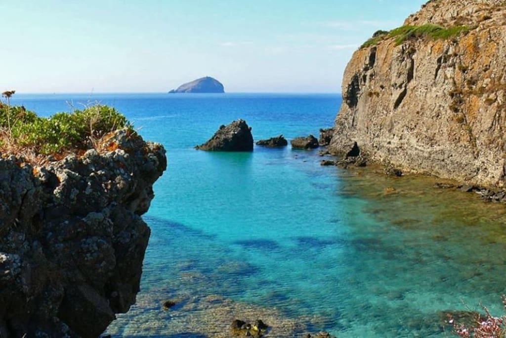 La casa Blanca y azul ti offre un pezzetto di paradiso dell'isola di Sant'antioco
