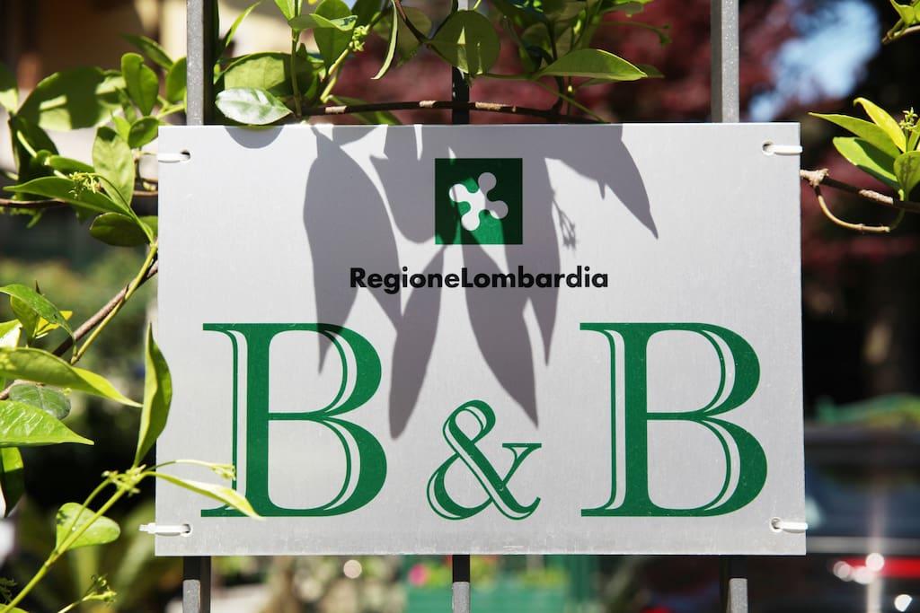 B&B ufficiale Regione Lombardia