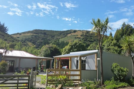 Peace and comfort at Fat Weka Farm, Portobello - Dunedin - Bed & Breakfast