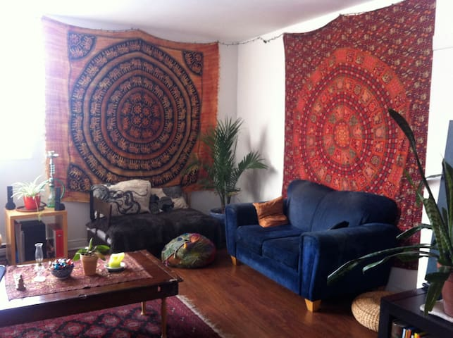 Beautiful room in the center - Montreal - Departamento