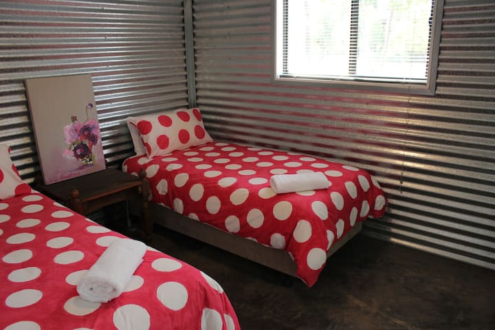 Maxie's twin bedroom