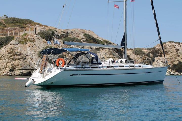Sailing boat Calypso