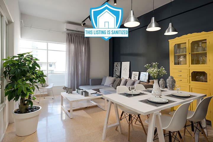 ★ Urban 3-Bedroom Apartment in Mar Mikhael