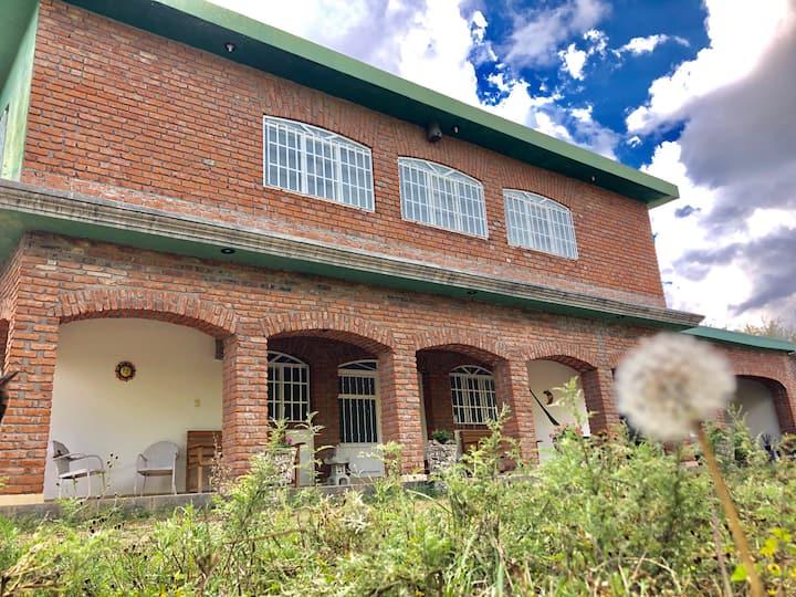 Casa de campo y Rancho en la Naturaleza