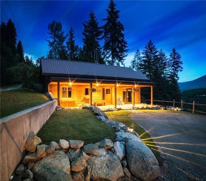 Sunnyside Cottage, Stunning Mountain & Lake Views