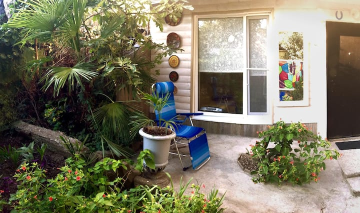 Уютные апартаменты с собственным двориком