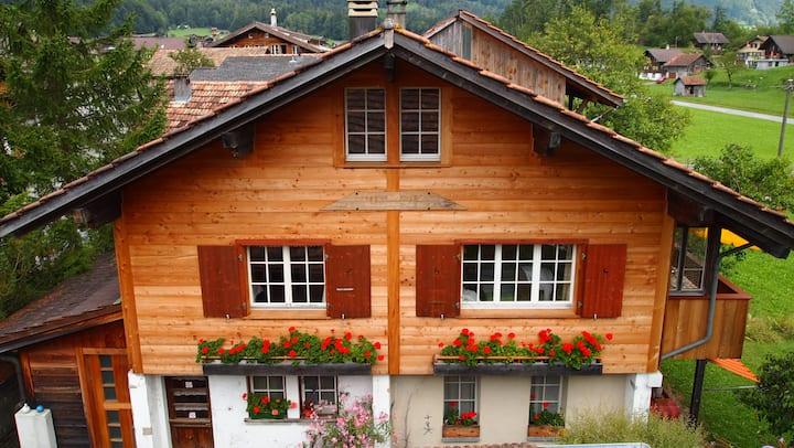 Herzlich willkommen im Chalet Bergschuh.