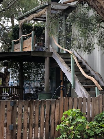 """Stairway to your very own """"treehouse """"."""