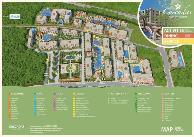 Apartment Cascadas Family Resort
