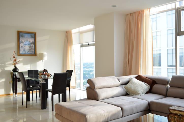 Andares Guadalajara with VIEW @ 22th floor
