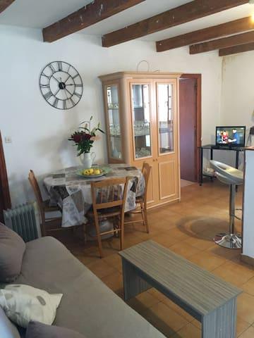 Charmant F3 dans village de montagne idéal famille - Rospigliani - Apartment