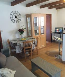 Charmant F3 dans village de montagne idéal famille - Rospigliani - 公寓