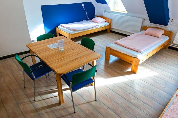 Pénztárcabarát négyágyas szoba