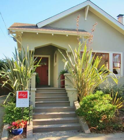 Charming house and garden near UC Berkeley!