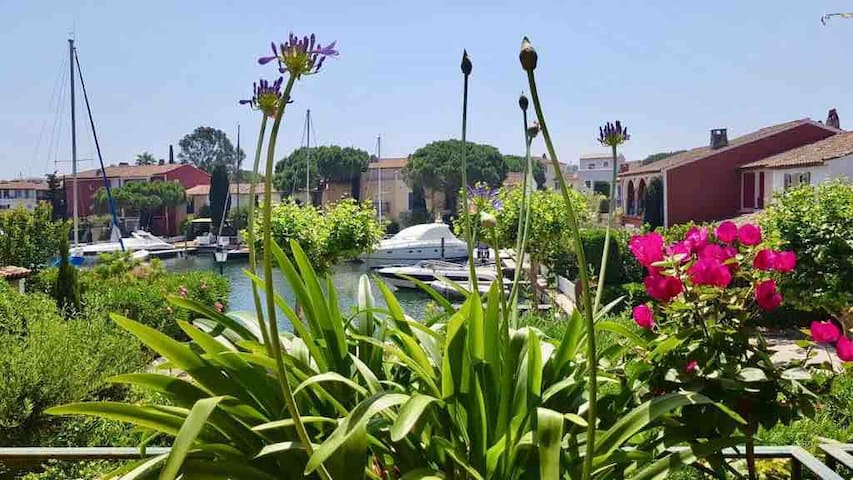 Beautiful duplex apartment set within Port Grimaud