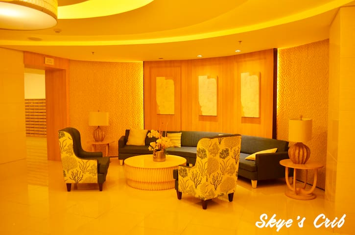 Waiting Areas at the Lobby of Shell Residences