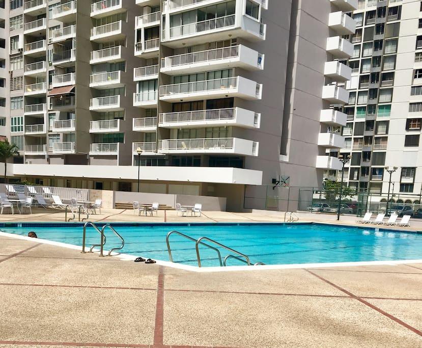 Beautiful pool- underutilized