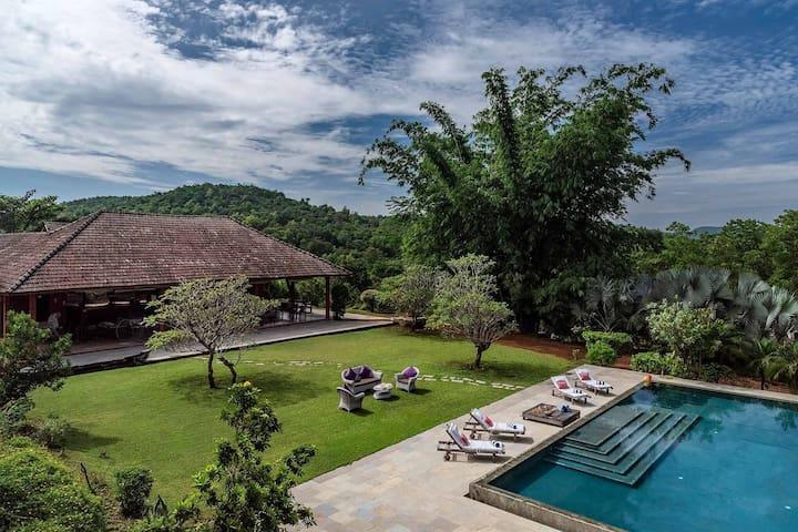 Nisarga-3Bedroom Pool Villa Amidst Nature, Indapur